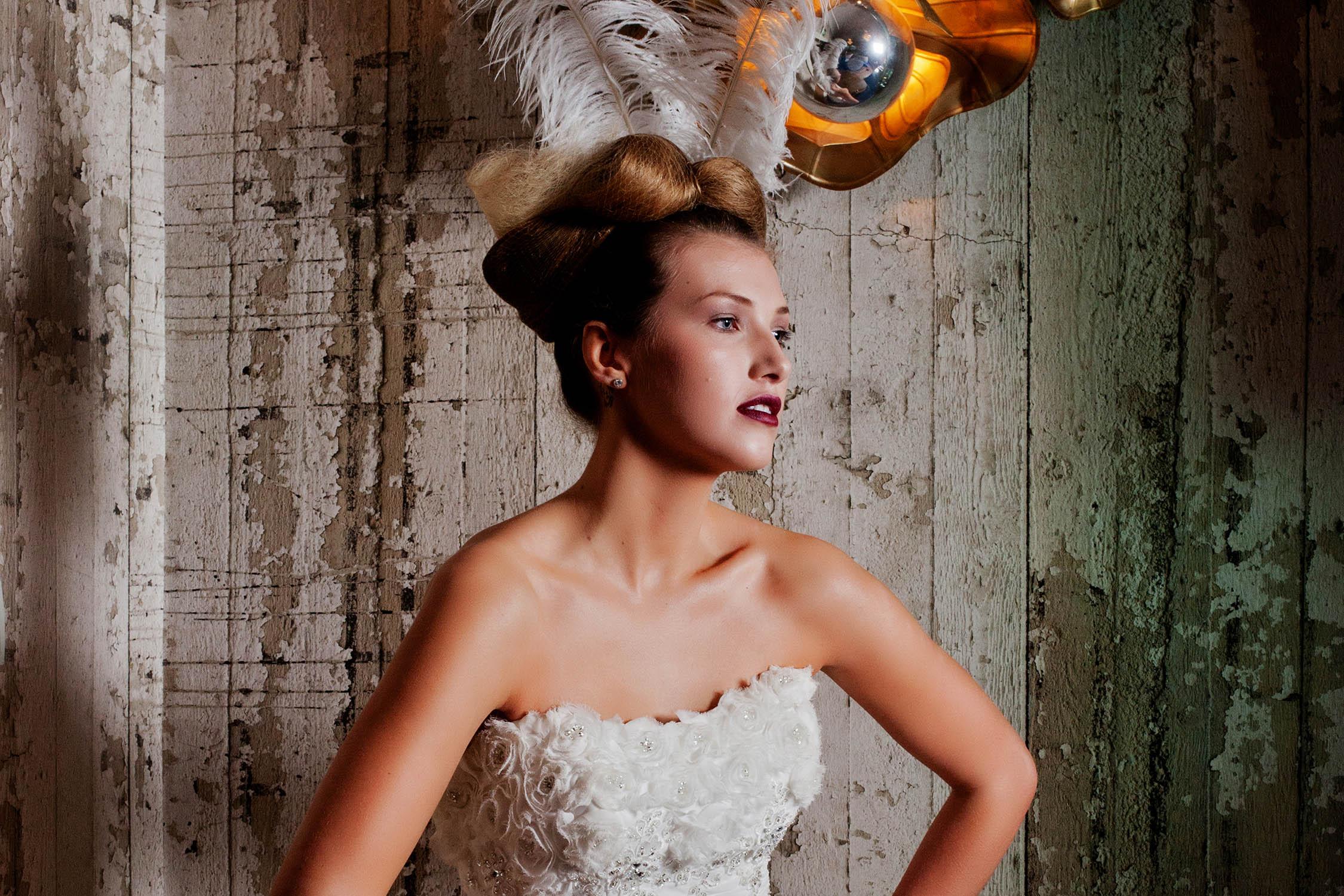Wedding Dress Shoot at Seaham Hall for ETC Magazine