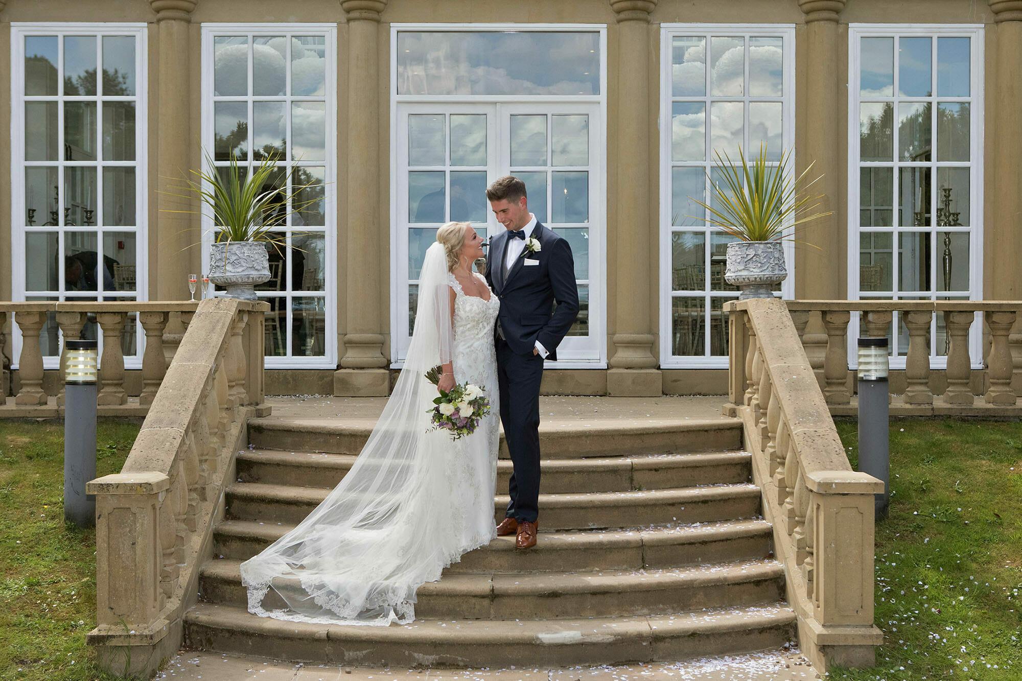 Dionne and Jonny's Woodhill Hall Wedding