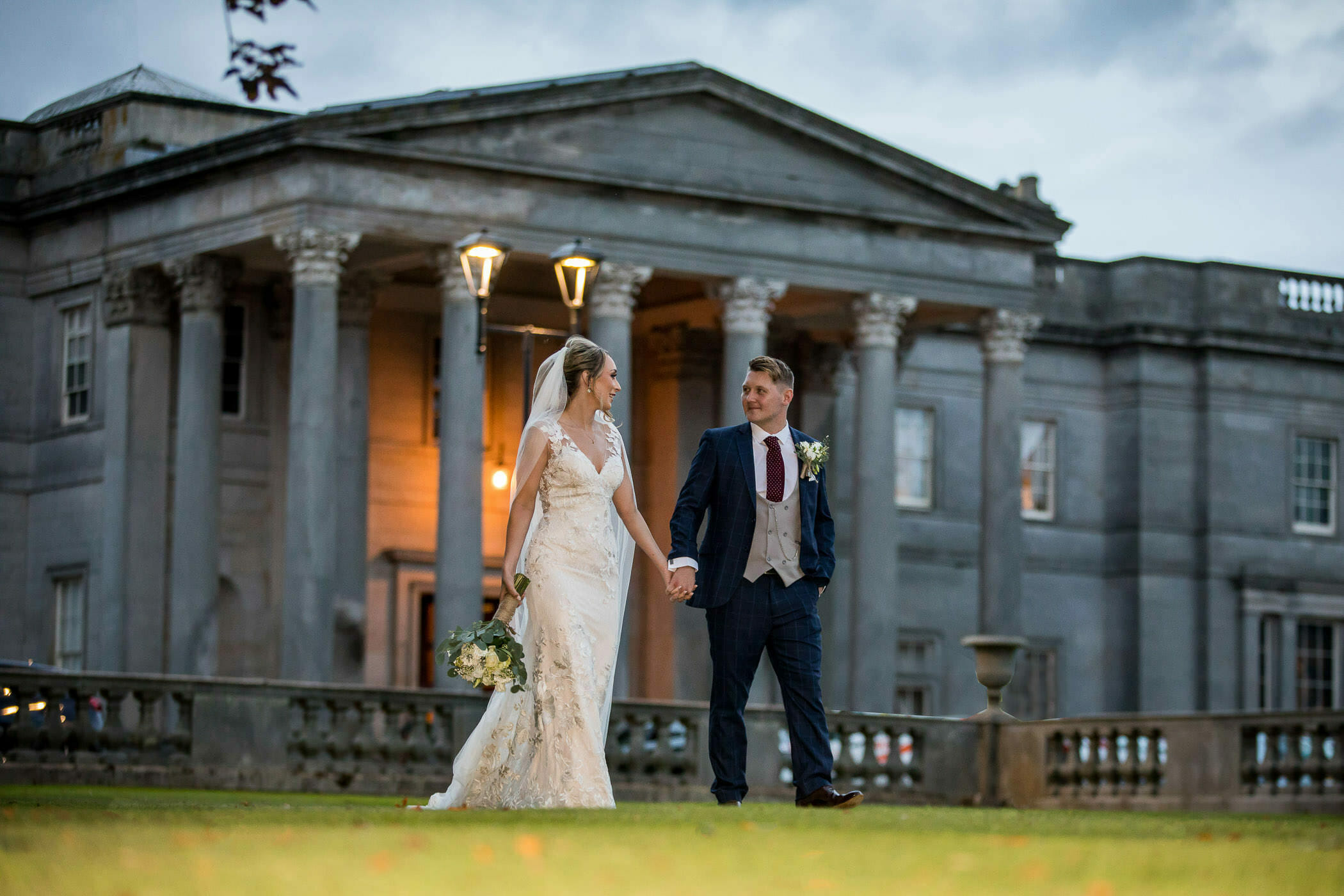 wynyard hall chapel wedding