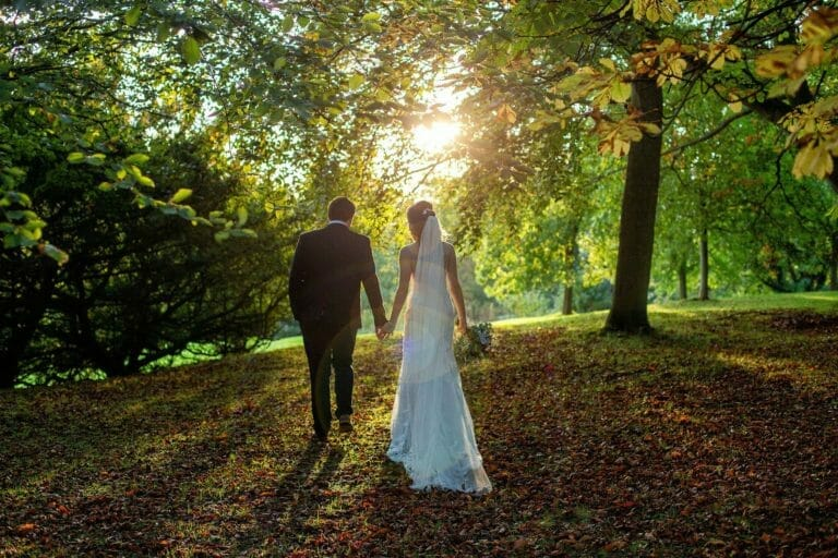 Wynyard Hall Autumn Wedding