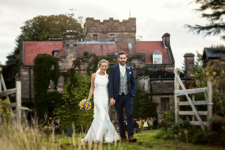 ellingham hall wedding of Holly & Chris