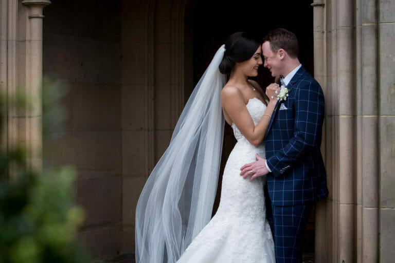 matfen hall wedding of jayme & steve